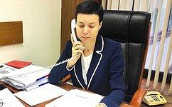 И. Рукавишникова: Наприеме граждан дончане затронули вопросы жилищного, земельного, санитарного законодательства