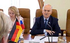 М.Щетинин: Внынешних непростых условиях важно сохранить позитивный потенциал российско-германского партнерства