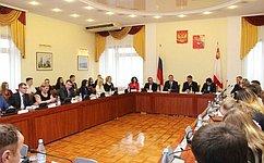 Ю.Воробьев: Решение общественных проблем зависит нетолько отвласти, ноиоткаждого гражданина