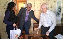 М. Хапсироков поздравил ветеранов Республики Адыгея с70-летием Великой Победы