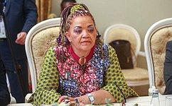 Председатель СФ провела встречу c Председателем Национального Совета Намибии