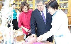 В.Джабаров врамках работы вЕврейской автономной области посетил образовательные имедицинские учреждения региона