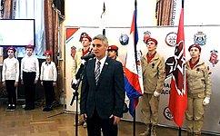 С. Фабричный: Движение «Юнармия» среди молодежи становится популярнее скаждым годом