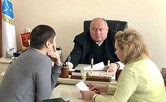 С.Аренин провел встречу спредставителями инициативных групп обманутых дольщиков