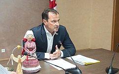 Ю. Федоров: ВУдмуртии планируется создать ассоциацию производителей народно-художественных промыслов
