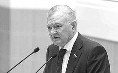 В. Матвиенко: О.Ковалев был ответственным иопытным государственным деятелем, принципиальным политиком, всю жизнь посвятившим служению Отечеству