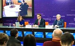 К. Косачев выразил надежду, что российские иевропейские парламентарии смогут вместе посетить Алеппо иПальмиру