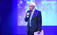 В. Марков принял участие вмероприятиях, посвященных 50-летию Ухтинского государственного технического университета