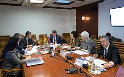 Состоялось заседание Комиссии посотрудничеству СФ иПарламента Республики Южная Осетия