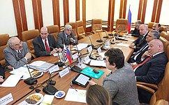 Члены Совета Федерации встретились спарламентской делегацией Уругвая