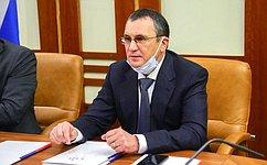 Состоялась встреча Н. Федорова си.о. главы Республики Чувашия О. Николаевым