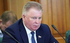 В.Наговицын передал дорожникам Бурятии поздравления Совета Федерации