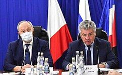 В. Бондарев: Нужно повысить эффективность межведомственного взаимодействия структур, обеспечивающих общественную безопасность ввоенных городках