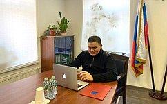 Сенатор С.Перминов обсудил спарламентариями Балтики вопросы экологии ивакцинации