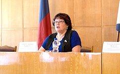Л.Талабаева: Патриотическое воспитание детей имолодежи– важная задача, стоящая перед представителями любой изветвей власти