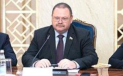 О. Мельниченко: Мы готовы всецело углублять сотрудничество сКНДР винтересах двух наших стран