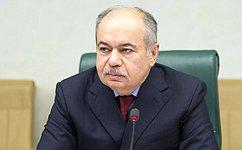И. Умаханов: Отэффективности сотрудничества междугосударствами Евразии зависит наше общее будущее