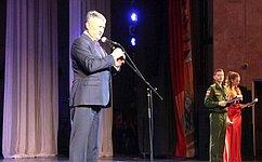 Ю. Воробьев принял участие вцеремонии принятия присяги юнармейцами вВологодской области