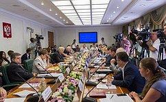 ВКомитете общественной поддержки жителей Юго-Востока Украины обсудили вопросы трудоустройства беженцев иподготовки кначалу учебного года