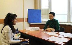 Жителям Ростовской области оказана правовая поддержка поналоговым исоциальным вопросам— И.Рукавишникова