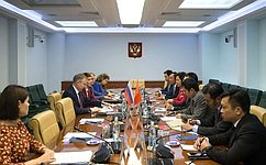А.Варфоломеев: Межпарламентское сотрудничество между Россией иВьетнамом интенсивно развивается