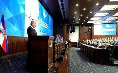 Председатель СФ Валентина Матвиенко приняла участие врасширенном заседании Коллегии Министерства обороны России