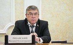 В. Рязанский: Члены миссии СФ понаблюдению зареферендумом вКрыму получили необходимые аккредитационные удостоверения
