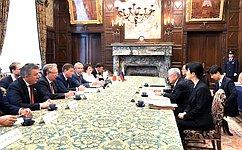 А. Турчак предложил расширить межрегиональное сотрудничество сЯпонией, включив внего региональные парламенты
