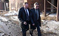 В.Озеров посетил впоселке Хор новую котельную, работающую нагазу