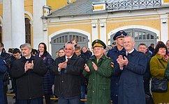 М. Козлов: Акция «Военная служба поконтракту– Твой выбор!» продемонстрировала силу ивоенную мощь нашей страны