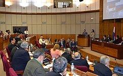 Визит делегации Совета Федерации воглаве сН.Федоровым встраны Южной Америки
