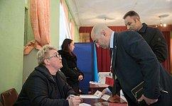 Входе референдума вКрыму граждане свободно идемократично выражают свою волю— А. Вайнберг