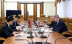 В. Бондарев: ВСФ приветствуют высокий уровень межпарламентского взаимодействия сКитаем