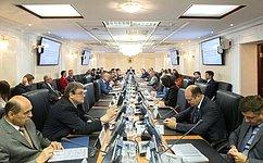 ВКомитете СФ поРегламенту иорганизации парламентской деятельности рассмотрели отчеты овыполнении контрольных поручений