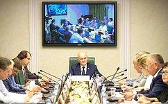 Перспективы развития АПК Сахалинской области обсудили вСовете Федерации