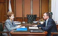 Г. Карелова поддержала идею проведения Форума социальных инноваций регионов вОмске в2015году