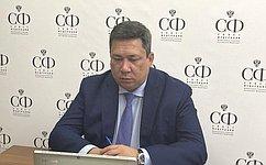 В. Полетаев принял участие впленарном заседании Совета судей Российской Федерации