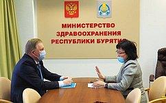 В. Наговицын: ВБурятии организован многоуровневый контроль запроцессом обеспечения лекарствами больных коронавирусом