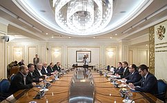 Konstantin Kosachyov has meeting with Hamas Political Bureau Chief Ismail Haniyeh