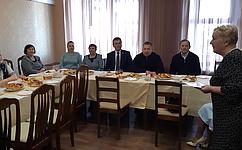 Д. Гусев стал почетным гостем навстрече членов землячества деревни Никитцы