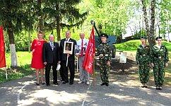 В.Кондрашин подчеркнул важность военно-патриотического воспитания молодежи
