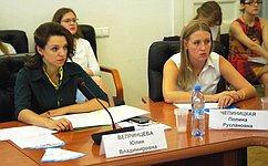 Ю.Вепринцева: Нужно расширять возможности для самореализации молодежи