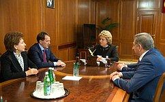 В.Матвиенко: Опыт развития Воронежской области будет полезен другим российским регионам
