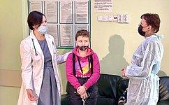Т. Кусайко: Программа Десятилетия детства включает мероприятия посовершенствованию онкопомощи