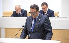 Н. Журавлев возглавил Комитет СФ побюджету ифинансовым рынкам