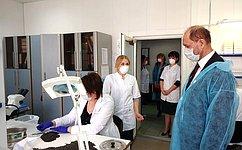В.Лакунин: ВРостовской области организована системная работа поконтролю загенетически модифицированными продуктами