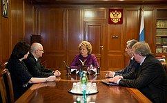 В.Матвиенко: Туристические проекты Оренбургской области представляют особый интерес
