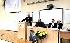 С. Митин: Один изопределяющих факторов роста АПК— создание эффективной системы пространственного развития страны