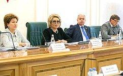 В. Матвиенко провела заседание Организационного комитета второго Евразийского женского форума