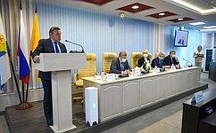 В. Тимченко принял участие вмероприятиях, посвященных 25-летию Кировской городской Думы